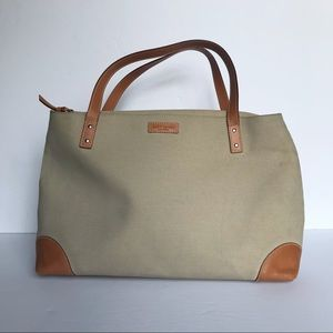 Authentic Kate Spade canvas shoulder bag